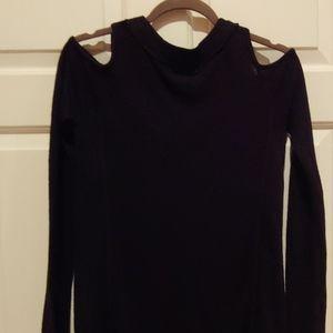 neely Sweaters - Open shoulder sweater tunic